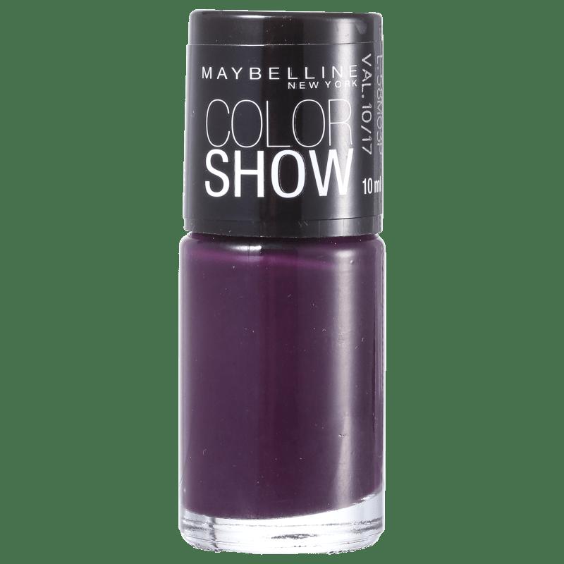 Maybelline Color Show 435 Purple Hit - Esmalte Cremoso 10ml