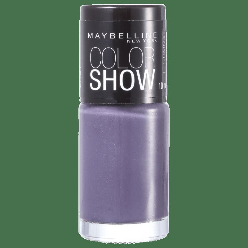Maybelline Color Show 520 All About Grey - Esmalte Cremoso 10ml