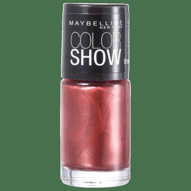 Maybelline Color Show 590 Brick Shimmer - Esmalte 10ml