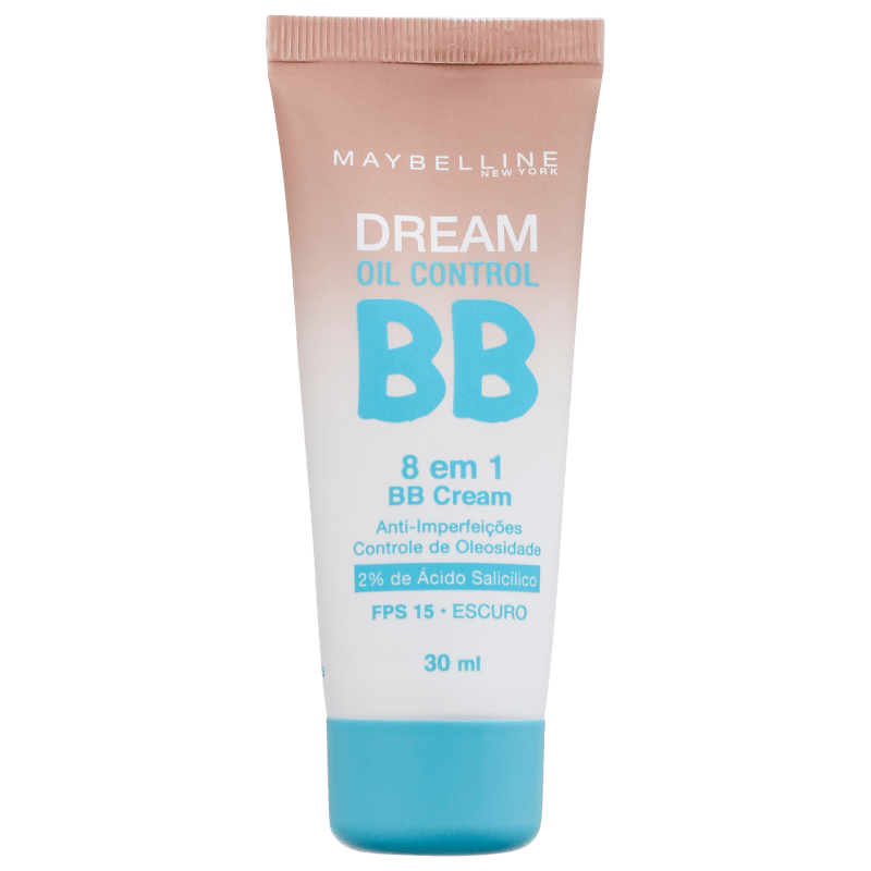 Maybelline Dream Oil Control 8 em 1 FPS 15 Escuro - BB Cream 30ml