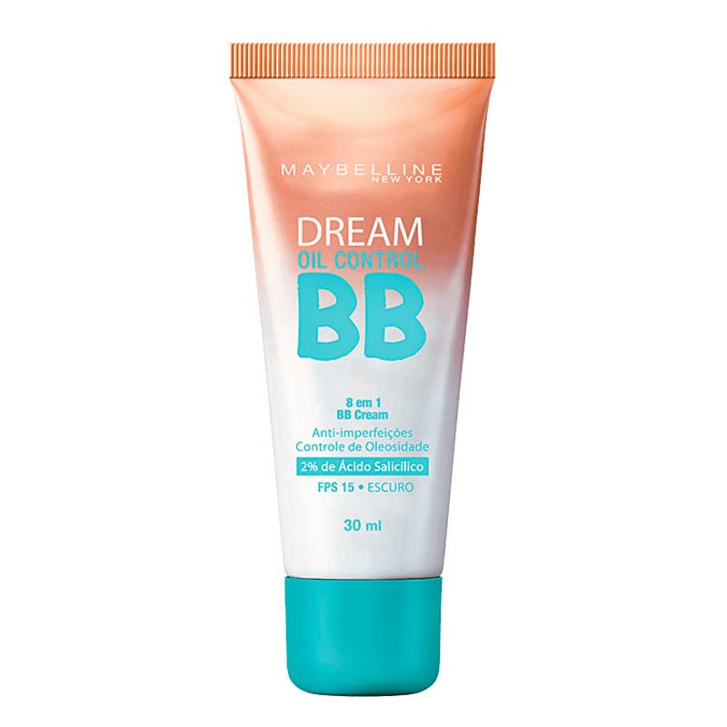 Maybelline Dream Oil Control 8 em 1 FPS 15 Escuro - BB Cream 30ml