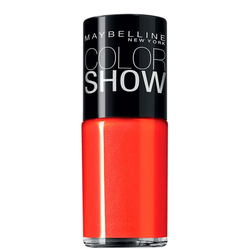 Maybelline Color Show 240 Vibrant Orange - Esmalte Cremoso 10ml