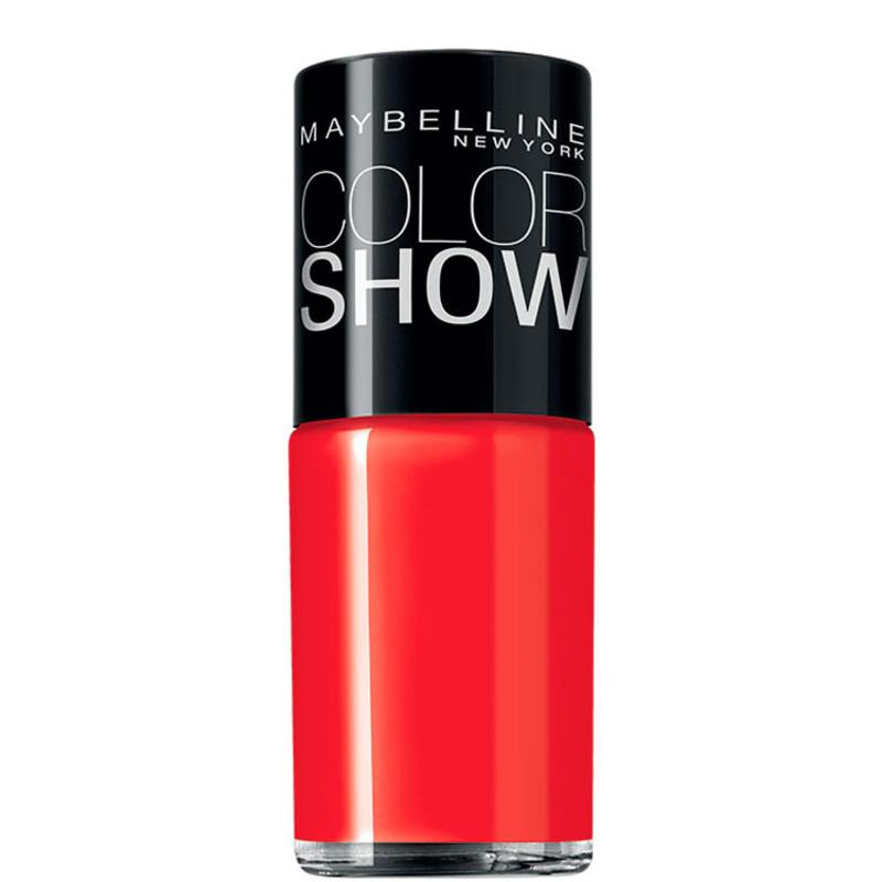 Maybelline Color Show 255 Power Red - Esmalte Cremoso 10ml