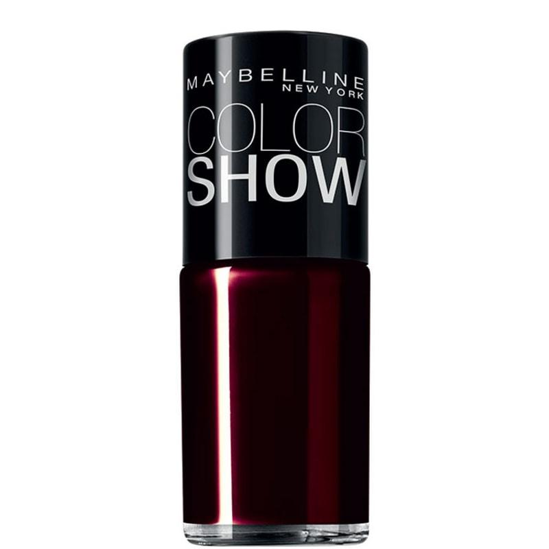 Maybelline Color Show 285 Burgundy Kiss - Esmalte 10ml