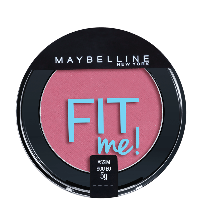 Maybelline Fit Me! 05 Assim Sou Eu - Blush Cintilante 5g