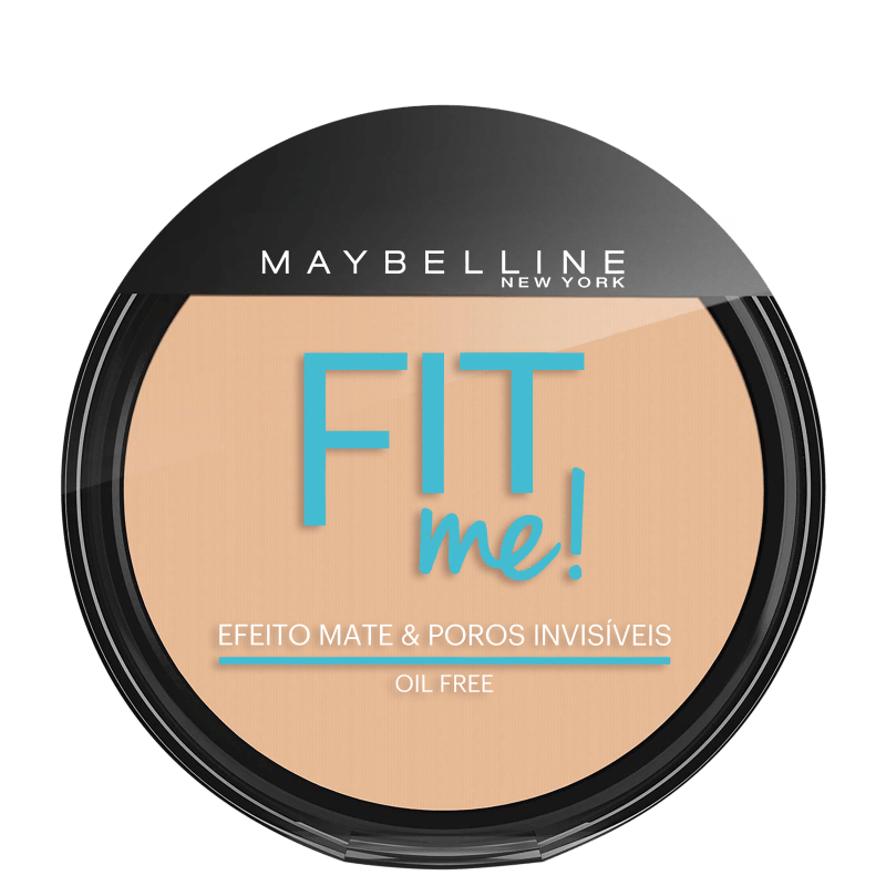 Maybelline Fit Me! Cor 110 Claro Real - Pó Compacto Natural