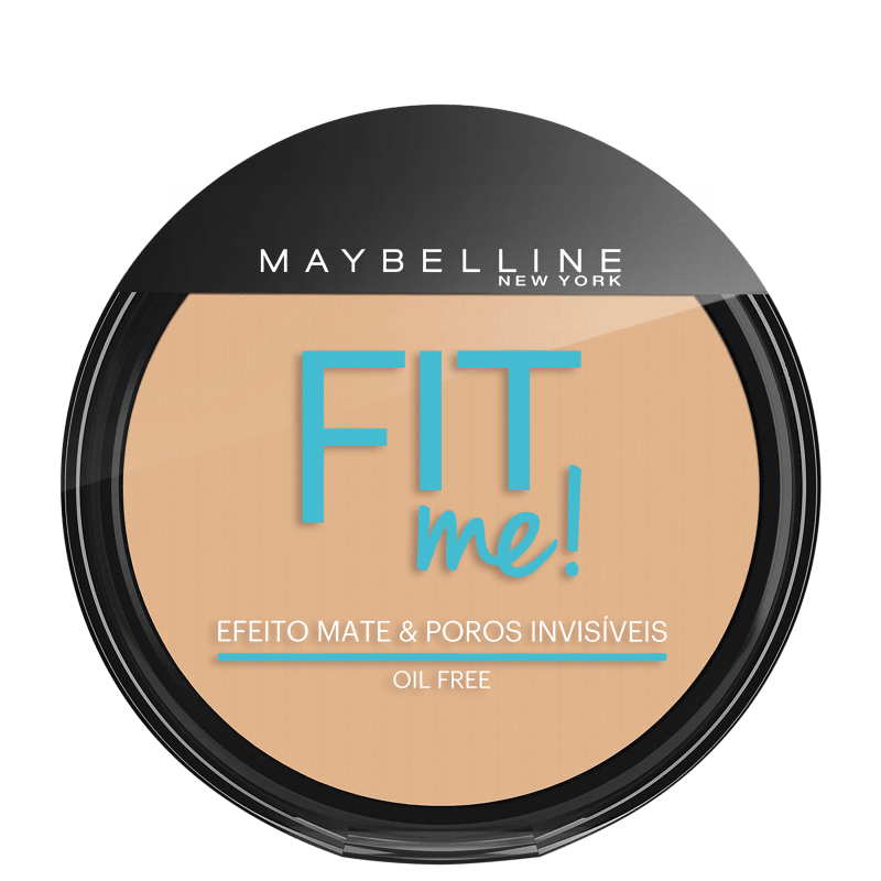 Maybelline Fit Me! Cor 130 Claro Diferente - Pó Compacto Natural