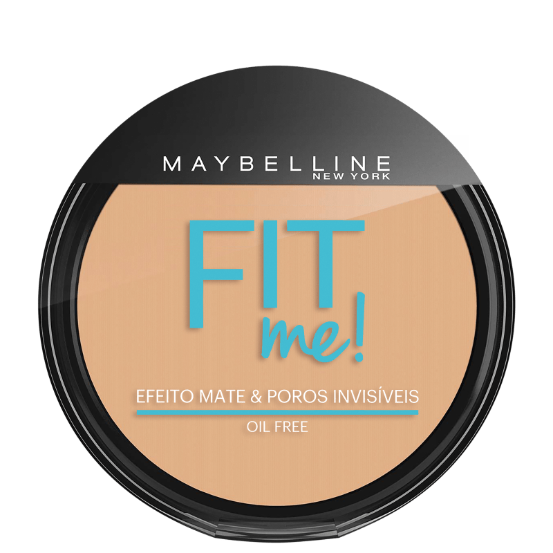 Maybelline Fit Me! Cor 140 Claro Singular - Pó Compacto Natural