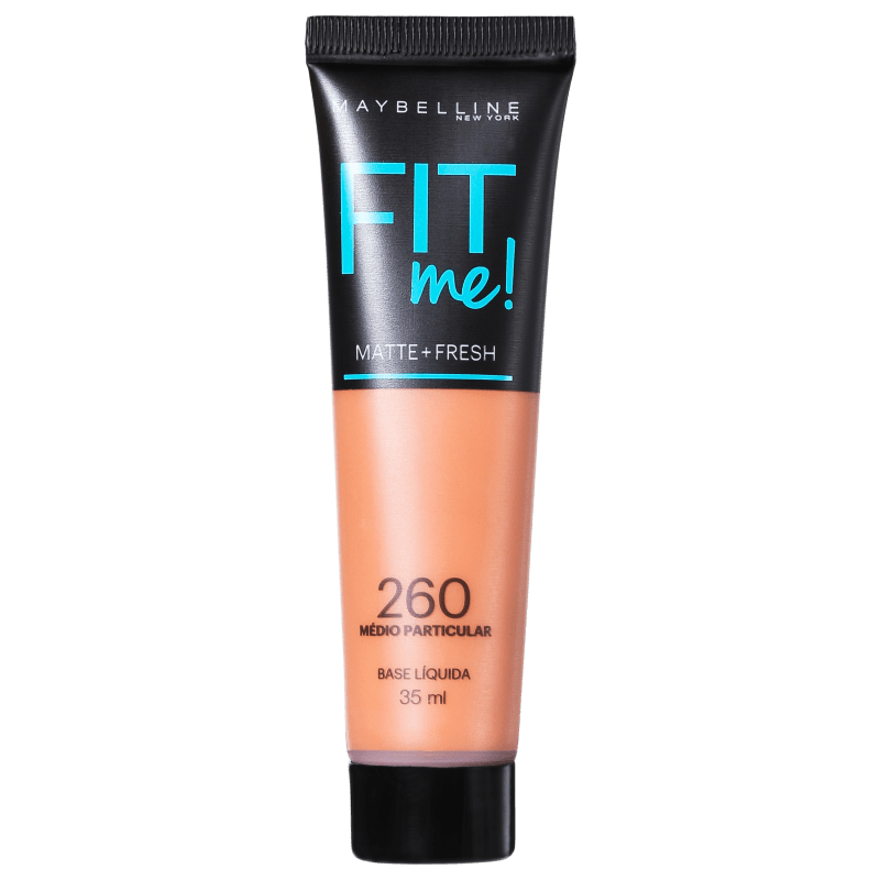 Maybelline Fit Me! Toque Matte + Fresh 260 - Base Líquida 35ml