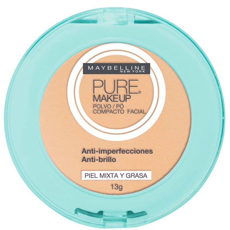 Maybelline Pure Makeup Arena Natural - Pó Compacto Natural 13g