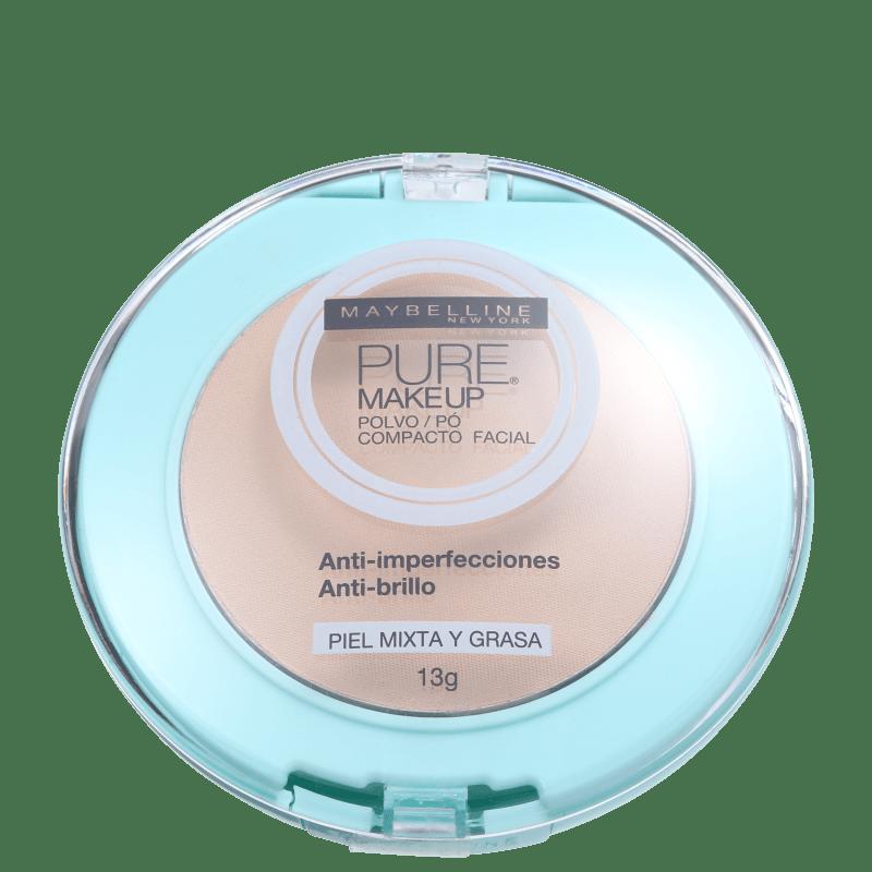 Maybelline Pure Makeup Arena Natural - Pó Compacto Natural 13g
