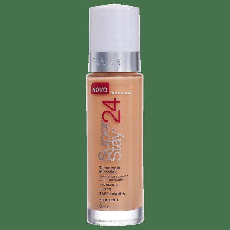 Maybelline Superstay 24 FPS 19 Nude Light - Base Líquida 30ml