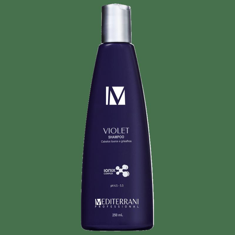 Mediterrani Violet Ionixx - Shampoo Desamarelador 250ml