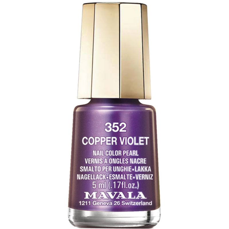 Mavala Mini Colours Cooper Violet - Esmalte Metálico 5ml