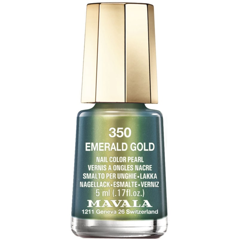 Mavala Mini Colours Emerald Gold - Esmalte Metálico 5ml