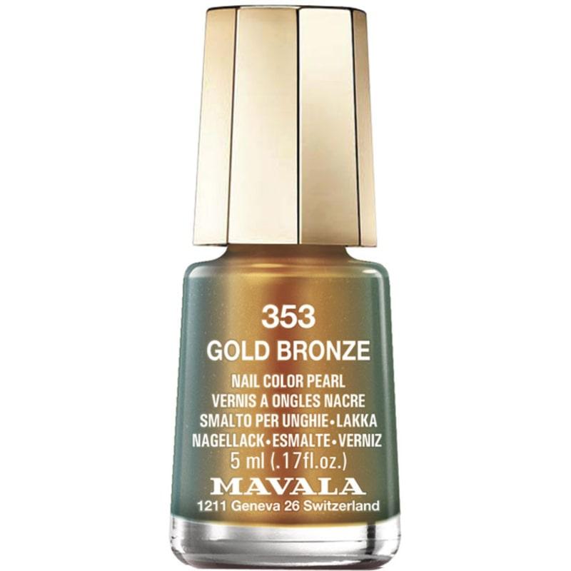 Mavala Mini Colours Gold Bronze - Esmalte Metálico 5ml