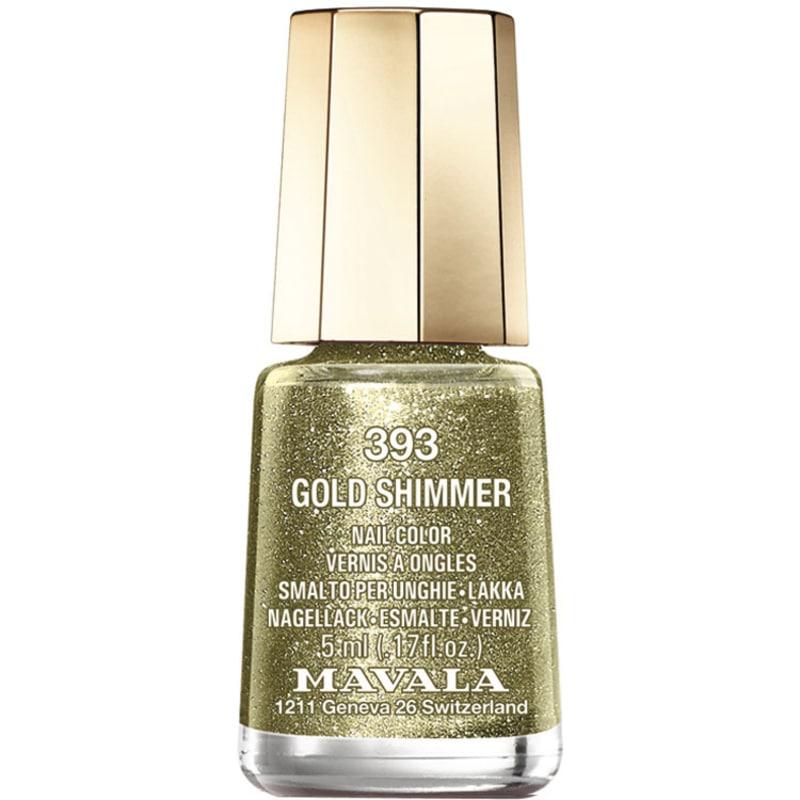 Mavala Mini Colours Gold Shimmer - Esmalte Glitter 5ml