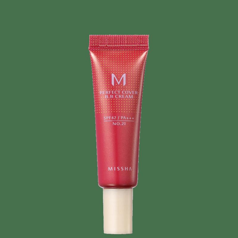 Missha M Perfect Cover Nº 21 Light Beige - BB Cream 10ml