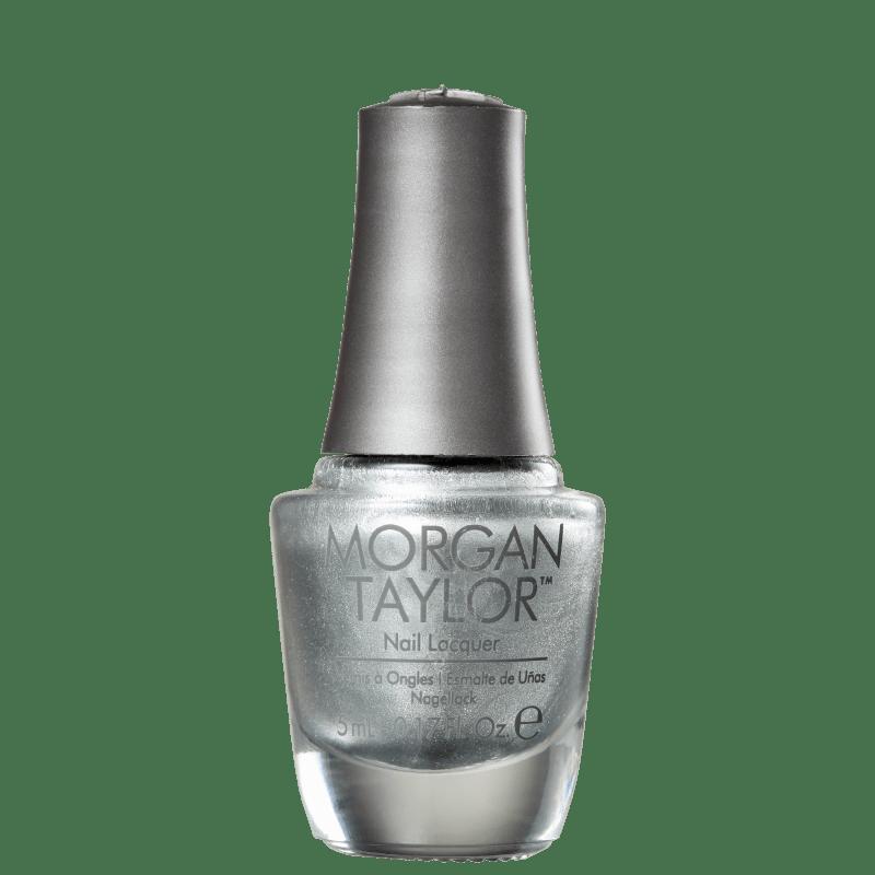 Morgan Taylor Chrome Mini Silver 71 - Esmalte Metálico 5ml