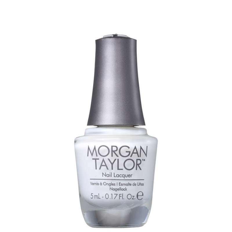 Morgan Taylor Mini All White Now 01 - Esmalte Cremoso 5ml