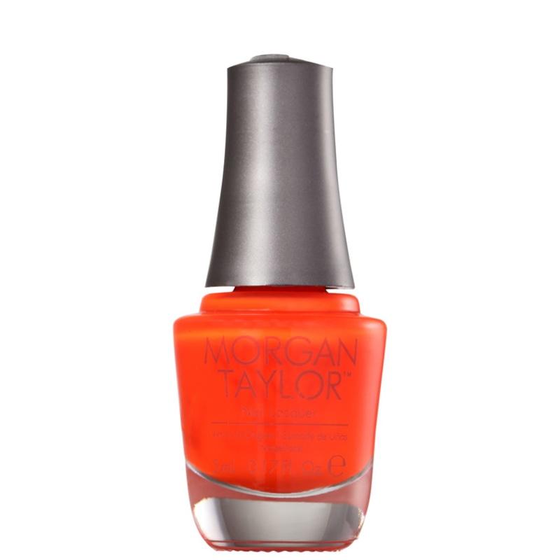 Morgan Taylor Orange Crush 28 - Esmalte Laranja 5ml