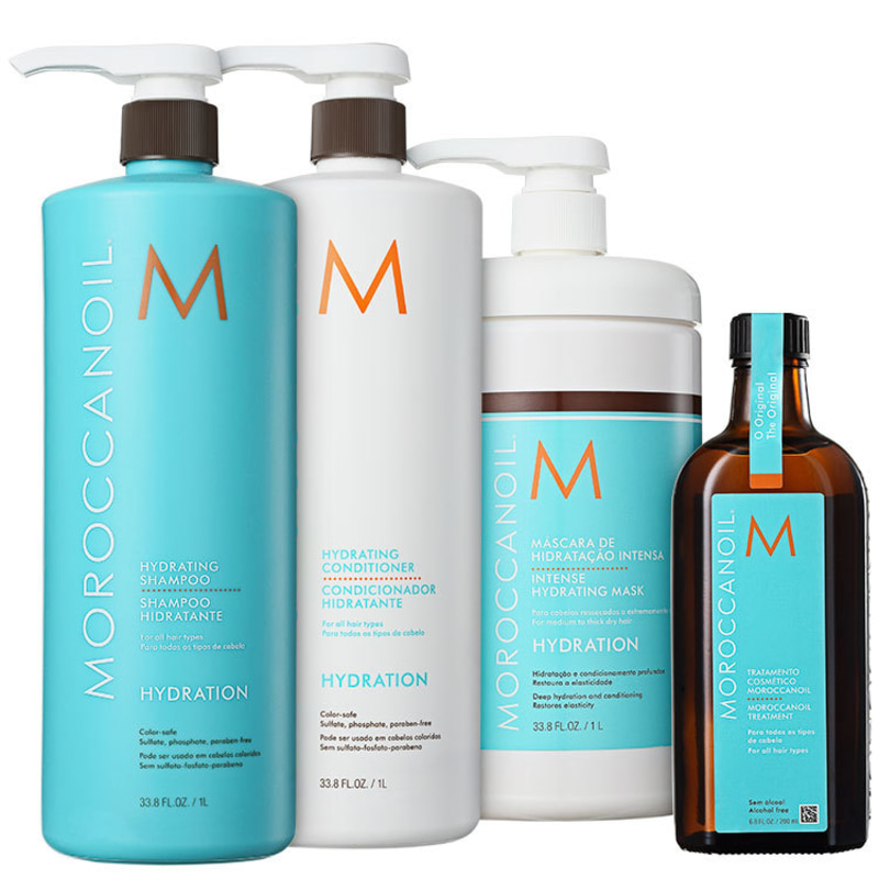 Kit Moroccanoil Hydration Treatment (4 Produtos)