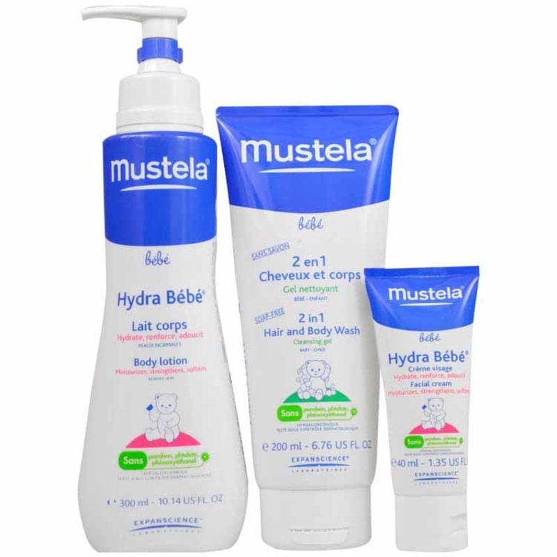 Mustela Bain Kit (3 Produtos)