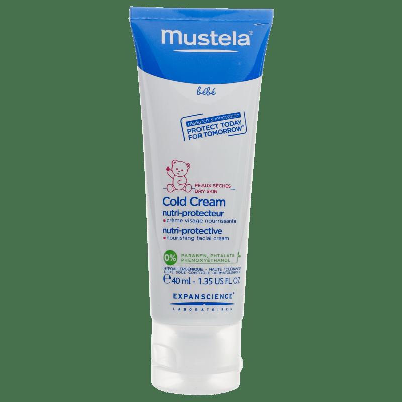 Mustela Bébé Cold Cream - Creme Nutritivo e Protetor 40ml