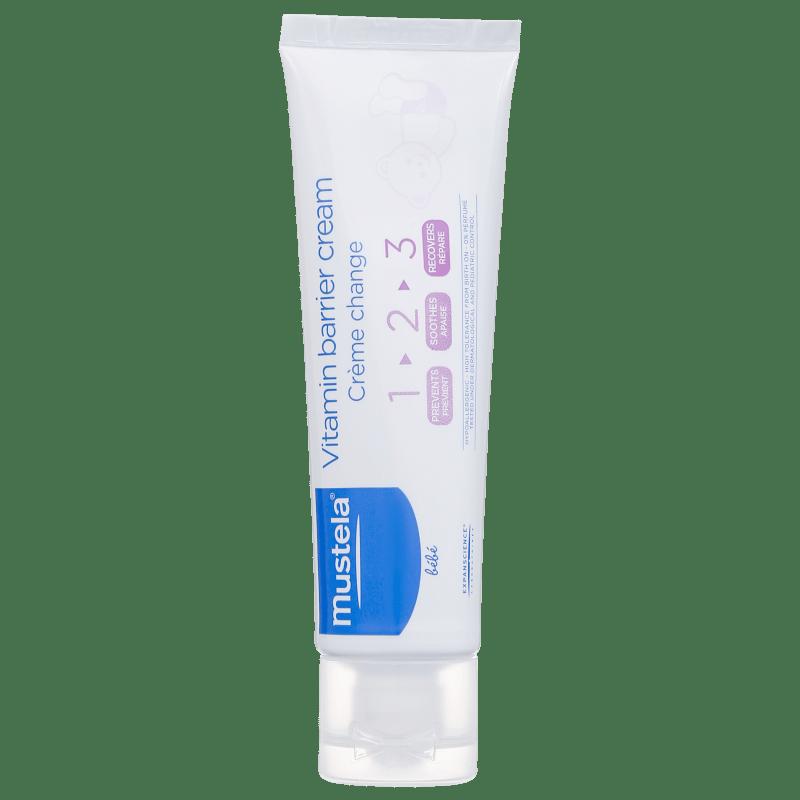 Mustela Bébé Creme Vitaminado Preventivo 123 - Creme para Assaduras 55g