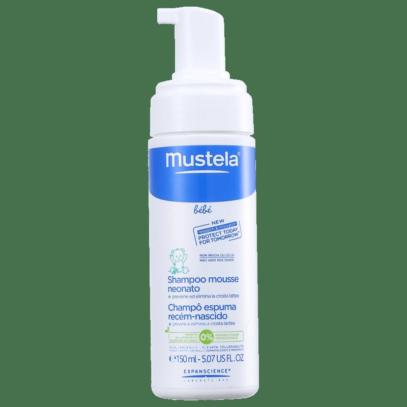 Mustela Bébé Shampooing Mousse Nourrisson - Shampoo 150ml