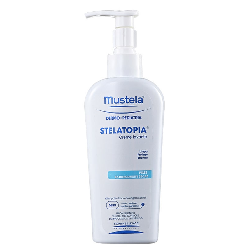 Mustela Dermo-Pédiatrie Stelatopia - Creme de Limpeza 250ml