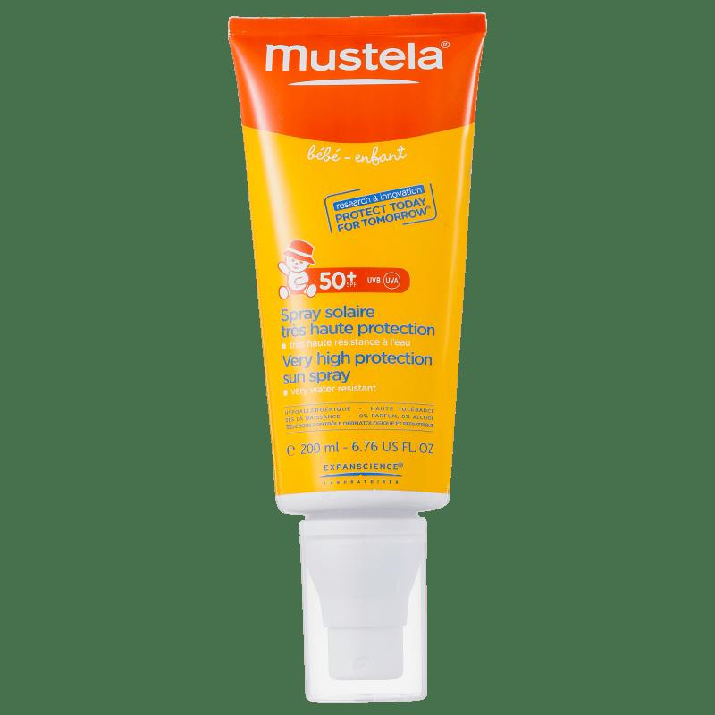Mustela Solaires Bébé-Enfant FPS 50+ - Protetor Solar Infantil 200ml