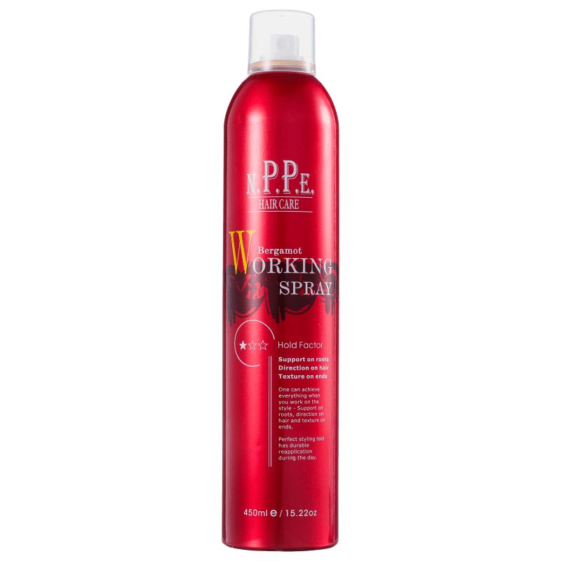 N.P.P.E. Bergamot Working Spray - Spray Modelador 450ml