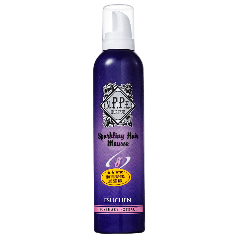 N.P.P.E. Sparkling Hair Mousse Nº8 - Mousse 300ml