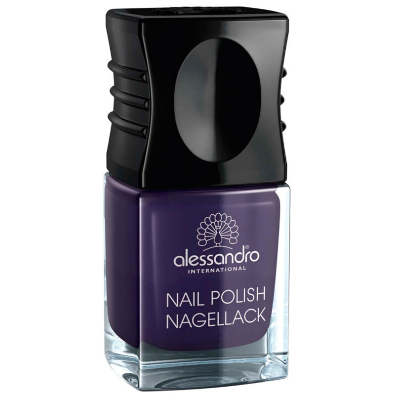 Alessandro International Nail Polish Blue Nuit - Esmalte Cremoso 10ml