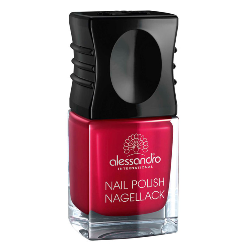 Alessandro International Nail Polish Cherry Cherry Lady - Esmalte Cremoso 10ml
