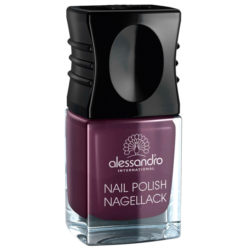 Alessandro International Nail Polish Dark Violet - Esmalte Cremoso 10ml
