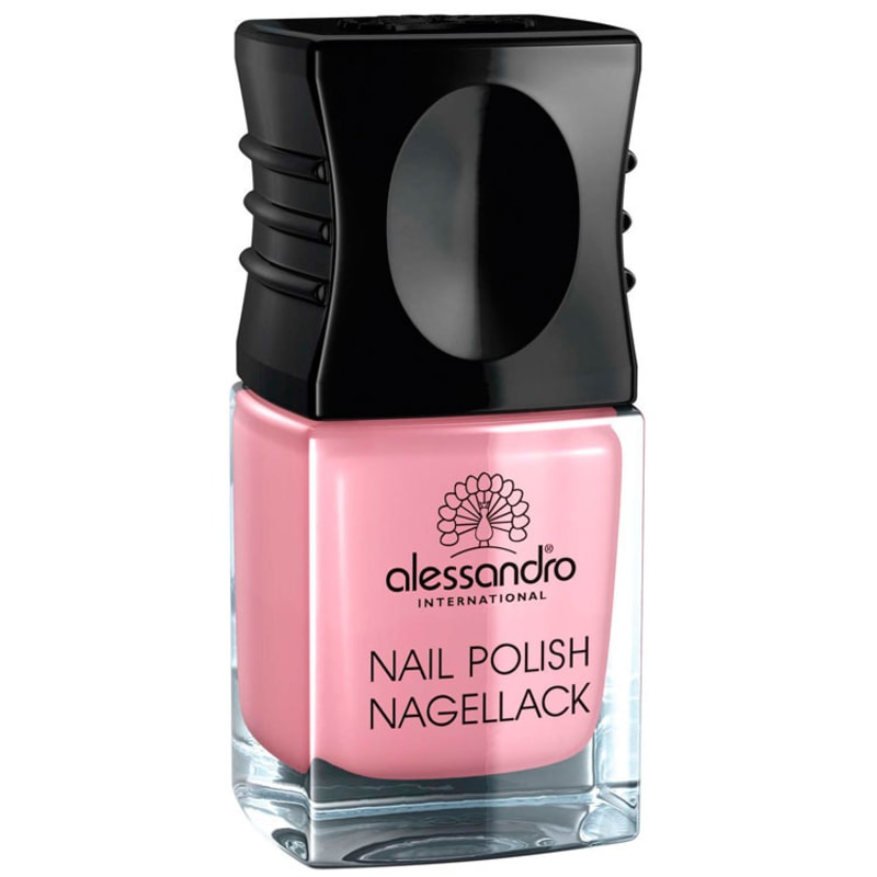 Alessandro International Nail Polish Happy Pink - Esmalte Cremoso 10ml