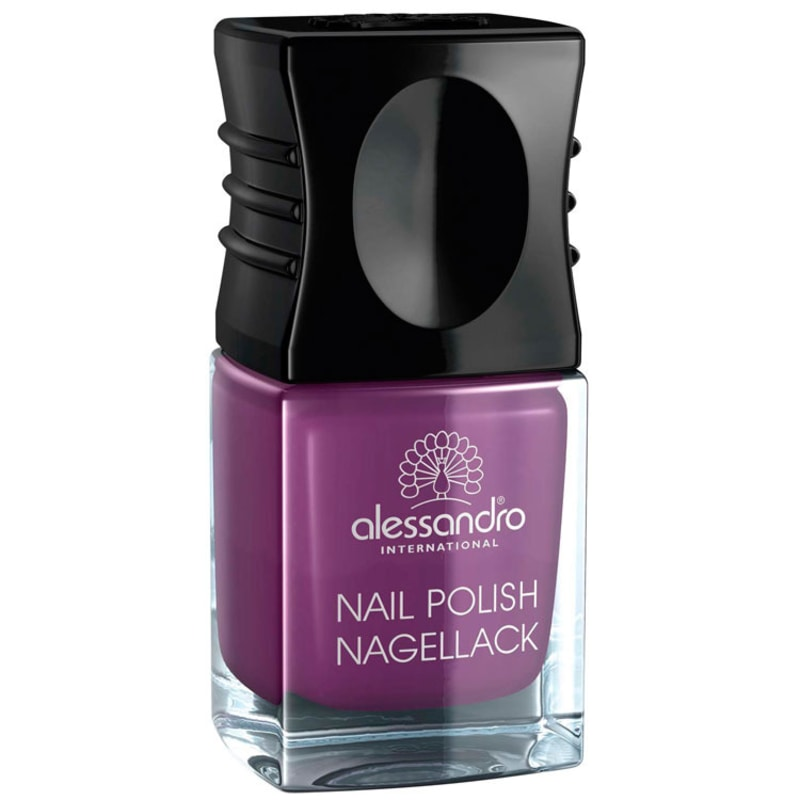 Alessandro International Nail Polish Mummy'S Plum Pie - Esmalte Cremoso 10ml
