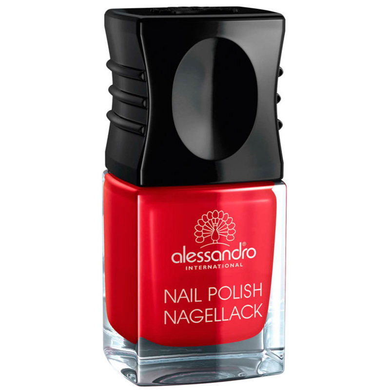 Alessandro International Nail Polish Secret Red - Esmalte Cremoso 10ml