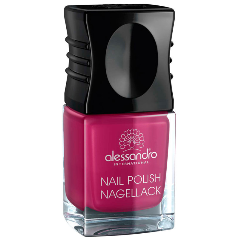 Alessandro International Nail Polish Shiny Rubin - Esmalte Cintilante 10ml