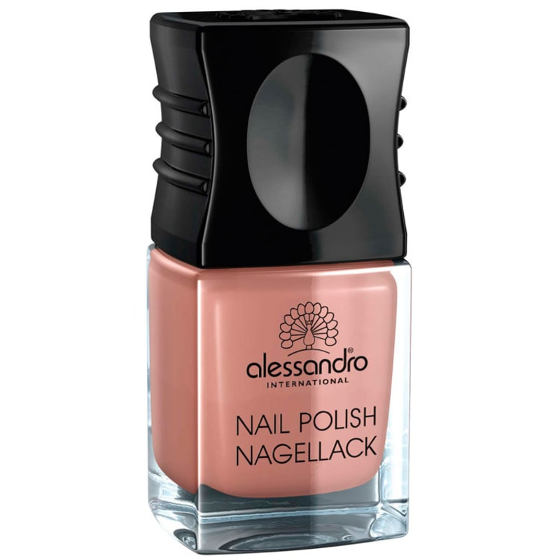 Alessandro International Nail Polish Toffe Nut - Esmalte Cremoso 10ml