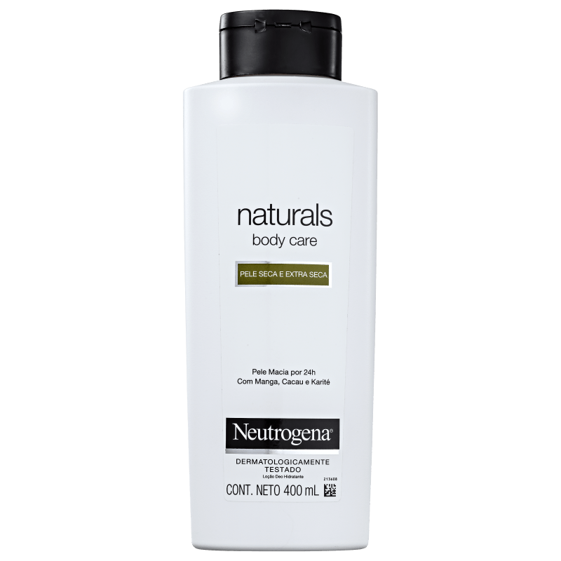 Neutrogena Body Care Naturals - Creme Hidratante Corporal 400ml