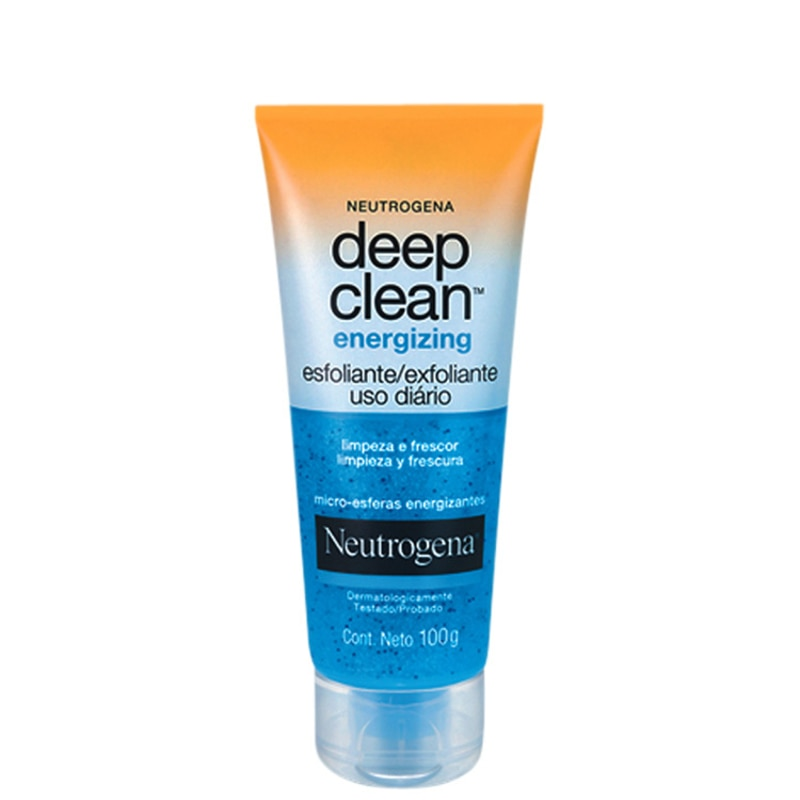 Neutrogena Deep Clean Energizing - Esfoliante Facial 100g