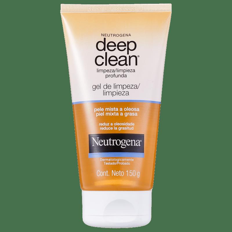 Neutrogena Deep Clean - Gel de Limpeza Facial 150g