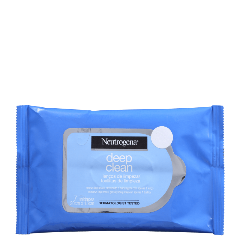 Lenços Demaquilantes Neutrogena Deep Clean