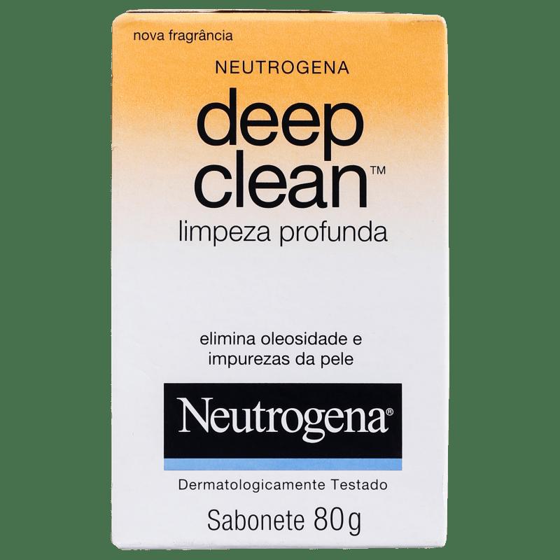 Neutrogena Deep Clean - Sabonete em Barra Facial 80g