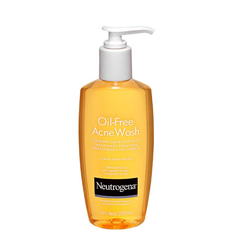 Neutrogena Oil Free Acne Wash - Sabonete Líquido Facial 200ml