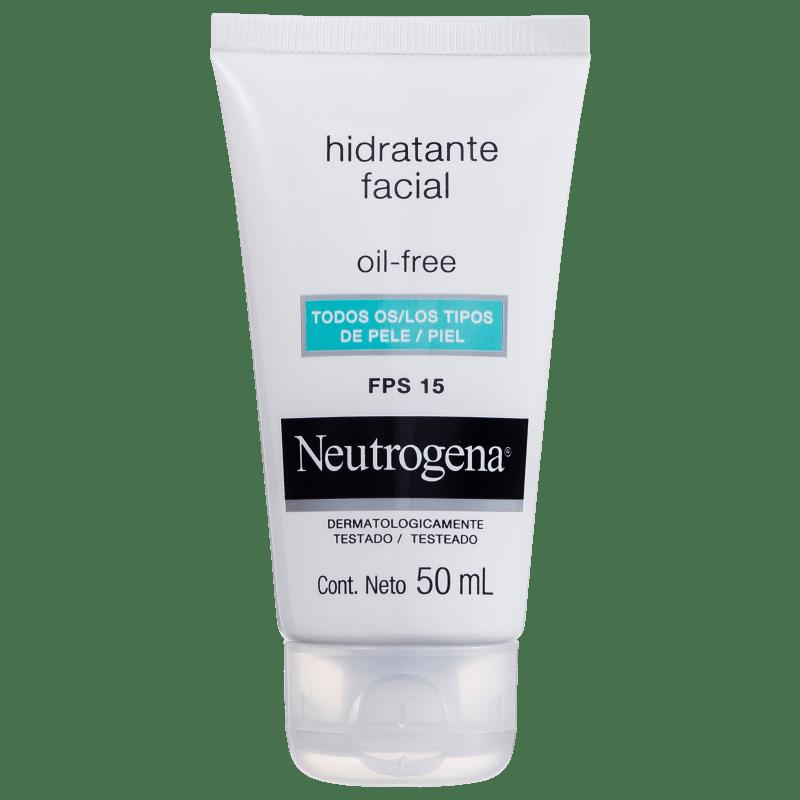 Neutrogena Oil Free FPS 15 - Hidratante Facial
