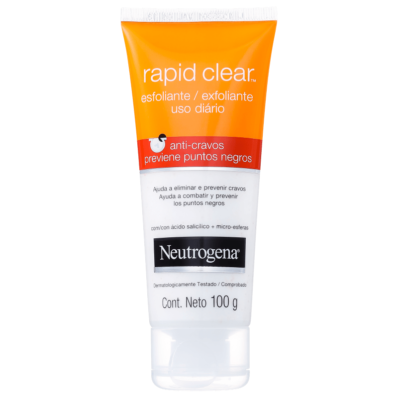 Neutrogena Rapid Clear Anti-Cravos - Esfoliante Facial 100g